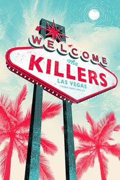 The Killers - Gigposter can find The killers and more on our website.The Killers - Gigposter 2016 The Killers, Tour Posters, Band Posters, Music Posters, Brandon Flowers, Concert Posters, Music Is Life, Wall Collage, Cool Bands