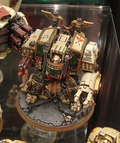 40K Dark Angels Venerable Dreadnought