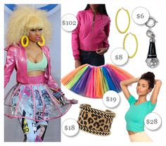 Nicki Minaj Halloween Costume