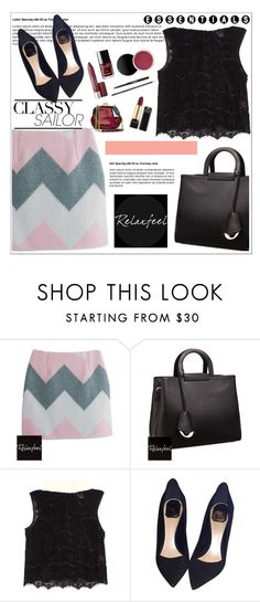 """""""Relaxfeel 4"""" by aida-nurkovic ❤ liked on Polyvore featuring Relaxfeel, Danielle Romeril and Christian Dior"""