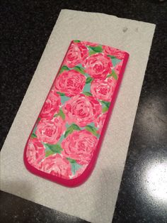 my calculator was boring so i printed off lilly pulitzer pattern and mod podged it. very easy and cute!