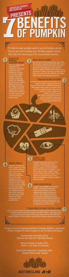 7 Health Benefits of #Pumpkin