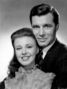 """Ginger Rogers and James Craig in """"Kitty Foyle""""  (1940)"""