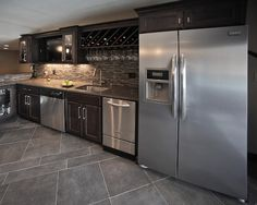 Rec Rooms - contemporary - basement - milwaukee - AB & K Bath and Kitchen