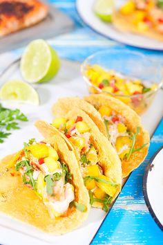 Que tal preparar deliciosos tacos de salmão? Veja como fazer: http://www.casadevalentina.com.br/blog/materia/tacos-de-salm-o.html #receita #recipes #food #casadevalentina