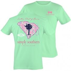 Simply Southern North Carolina Preppy LightHouse State Pattern T-Shirt Available in sizes- Simply Southern T Shirts, Preppy Southern, Southern Marsh, Simply Southern Dresses, Southern Shirt Company, Southern Tide, Southern Prep, Simply Cute Tees, Outfits