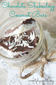 Frozen Chocolate Shakeology Bark - Variety by Vashti