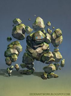 Stone+Golem+by+Eedenartwork.deviantart.com+on+@DeviantArt