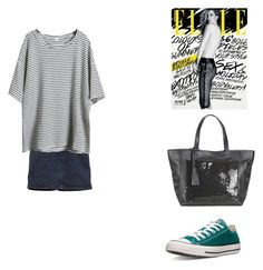 """Sin título #56"" by ortizlangapino on Polyvore featuring moda, SHOUROUK, Converse y Loxwood"