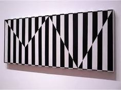 wowgreat: Carmen Herrera (via Some Sort of Geometry / Carmen Herrera) Op Art, Hard Edge Painting, Different Kinds Of Art, Wall Collage, Contemporary Art, Modern Art, Abstract Art, Canvas Art, Black And White
