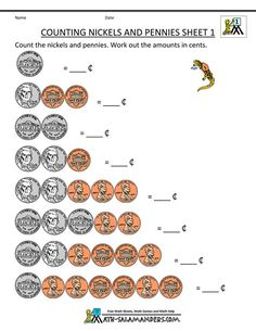 Free Money Counting Printable Worksheets Kindergarten, 1st Grade Worksheets Counting Coins Practice Free Worksheets For 1st Grade Counting Money Post Date 22 Nov 2018(78