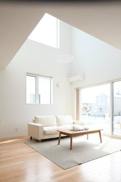 Discover more of the best Muji, Living, Form, Thinking, and Home inspiration on Designspiration My Living Room, Home And Living, Living Spaces, Home Interior Design, Interior Architecture, Interior And Exterior, Muji Home, Muji Style, Japanese Interior