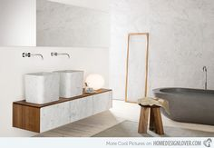 20 Exceptional and Stylish White Bathroom Designs