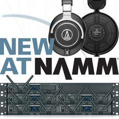 New At NAMM   Audio-Technica USA Edition