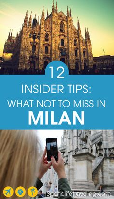 What Not to Miss in Milan, Italy: 12 Tips From an Insider : After having lived in Milan these are 12 things Farah recommends not to miss when visiting Italy. Emilia Romagna, Milan Travel, Italy Travel Tips, Voyage Europe, Travel Drawing, Visit Italy, Italy Vacation, Italy Trip, Italy Tours