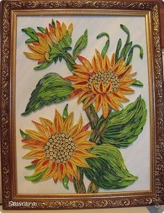 More paper quilling inspirations.