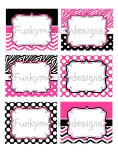 Diy INSTANT DOWNLOAD Minnie Mouse Inspired Birthday by zsbows, $2.00