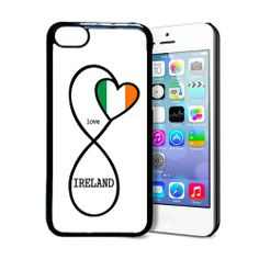 Amazon.com: SudysAccessories Irish Love Ireland Flag Infinity Love iPhone Thinshell Protective Plastic iPhone 5C Case: Cell Phones & Accesso...