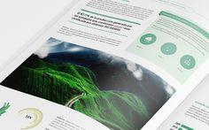 Corporate Brochure template by Fernando Báez, via Behance