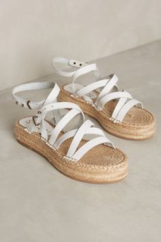 Splendid Erin Gladiator Espadrilles - anthropologie.com #anthroregistry