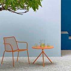 Mobilier Nolita Pedrali JardinChic Lausanne, Table, Gardens, Outdoor Furniture, Plants, Design, Home Decor, Outdoor Areas, Armchairs