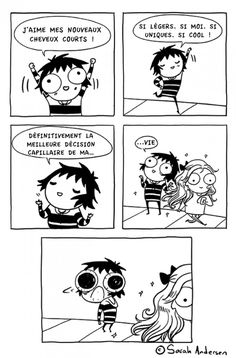 Memes humor espanol sarah andersen 62 Ideas for 2019 Funny Shit, Funny Cute, Funny Memes, Hilarious, Funny Stuff, Memes Humor, Sarah Anderson Comics, Sara Anderson, Girls Problems