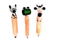 Lápiz Animal Madera Rustica - Catálogo de Productos -Artesanías de Colombia