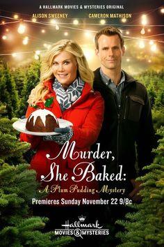 "Hallmark Movies & Mysteries: ""Murder, She Baked: A Plum Pudding Mystery"" (2015) | #christmasmovies #christmas                                                                                                                                                                                 Plus"