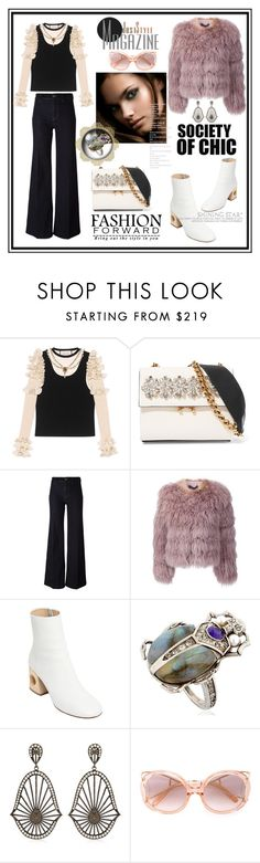 """""""Bring out the style in you!"""" by zabead ❤ liked on Polyvore featuring Gucci, Marni, PS Paul Smith, Ralph Lauren Black Label, Ports 1961, Alexander McQueen, Assya London and Chloé"""