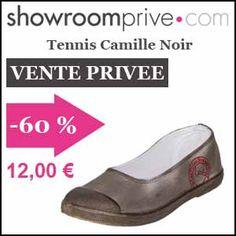 #missbonreduction; Vente privée : 60 % de réduction sur le Tennis Camille Noir chez Showroomprive. http://www.miss-bon-reduction.fr//details-bon-reduction-Showroomprive-i853029-c1835293.html