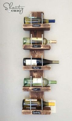I like this idea, but probably with dark or black wood and silver labels.