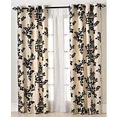 "Miller Curtains Window Treatments, Simsbury 50"" x 84"" Panel- green"