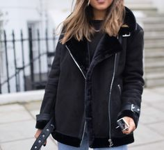 """1,397 Likes, 42 Comments - Sarah & Philippa (@wearetwinset) on Instagram: """"Taking my winter coat game very seriously 🖤 Here's a sneak peek of some AW goodies on coming up on…"""""""