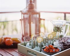 Tray Chic - Easy & Affordable Ideas for Outdoor Entertaining - Photos