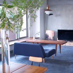hamakajiさんの、部屋全体,ルイスポールセン,セルジュムーユ,NOGREEN NOLIFE,塩系インテリア,aoソファ,のお部屋写真
