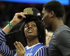 Dakari & his mom