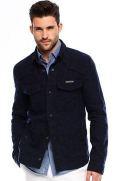 Leather Bomber Jacket - Armani Exchange | Men's Clothing ...