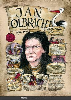 Jan Olbracht - Poczet królów polskich - PlanszeDydaktyczne.pl