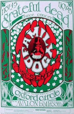 GigPosters.com - Grateful Dead - Oxford Circle
