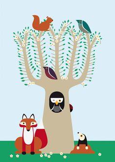Spring by karinlindeskov on Etsy, €17.00