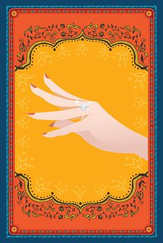 """""""Arch Diva"""" Bridal Shower/ Dholki Invitations by Soulful ..."""