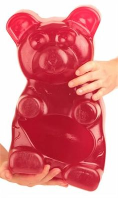 Ginormous gummy bear