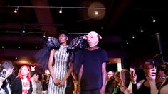 #MeToo fashion show opens with angel wing models pig-faced men  NEW YORK: A fashion show inspired by the #MeToo social media campaign aimed at exposing sexual misconduct across the United States opened on Friday in New York with models sporting angel wings handcuffed to men in pig masks.  Dressed in a floor-length black and white gown with leather trim and wings at her shoulders Cheyenne Jacobs 22 stopped at the end of the runway to declare herself a survivor of sexual abuse giving the…
