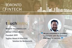 Ranked the restaurant POS system, TouchBistro offers a solution packed with features to help make the lives of restaurateurs and their employees easier. Pos, Success, Restaurant, Technology, How To Make, Life, Tech, Diner Restaurant, Tecnologia