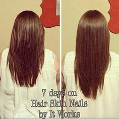 How to grow hair fast? It Works Hair Skin Nails in less than 2 weeks!!!! Get it now at awilliamsitworks.com