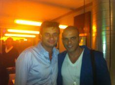 Eyal Golan au Casino de Paris les 27 et 28 janvier. Diner avec ses musiciens au l'Inté Caffé. www.lintecaffe.com