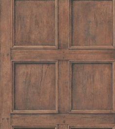 Regent (RE06-OAK) - Andrew Martin Wallpapers - Traditional wood panelling with fine realistic detailing, showing in a oak colouring - other colours are available. Please request a sample for true colour match. Can be hung as a 38.1cm pattern repeat.