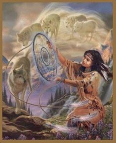 american indian spirit warrior pictures | Great Spirit, whose voice I hear in the winds, and whose breath ...