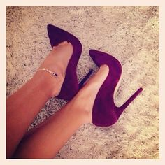 burgundy pumps. shop the look now!