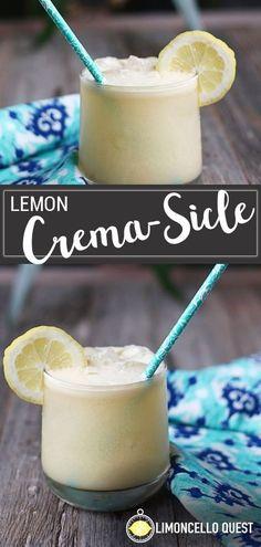 Limoncello Cocktails, Refreshing Summer Cocktails, Fun Cocktails, Lemon Cello Recipe, Salted Caramel Fudge, Salted Caramels, Thyme Recipes, Pumpkin Spice Muffins, Lemon Drink